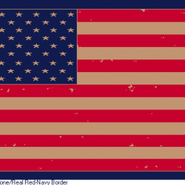American Flag – Distressed